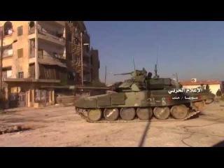Агония боевиков в Алеппо: под ударами «Тигров» и Т-90 банды отступают на юг