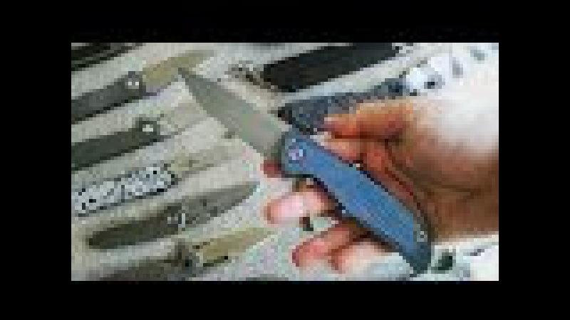 Нож Ф95 Ледокол от Кевин Джон из Китая / Knife F95 Kevin John Icebreaker s35vn China