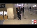 Vanessa Hudgens arriving at LAX Airport in Los Angeles