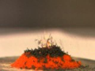 158. Разложение дихромата аммония (вулкан).wmv