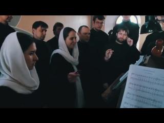 Клиросный хор Иоанно-Предтеченского мужского монастыря. Фрагмент архиерейского богослужения