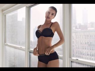 Emily Ratajkowski for DKNY SS 2017 ad campaign