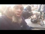 Билял Абдуль Карим показывает какой была морозной ночь в Сирии сегодня
