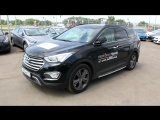 2014 Hyundai Grand Santa Fe High-Tech. Start Up, Engine, and In Depth Tour.