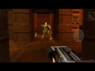 Видео из игры Quake 2 мод The Reckoning(Xatrix) - ANDROID