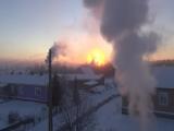 6 января 2017 год. Морозное утро в Пинеге.