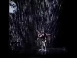 Ольга Соколова, на шоу талантов в США - танец под дожде