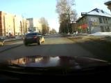 3.0 ауди кватро(220л.с) против пони москвича