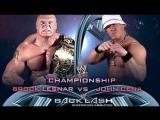 [WWE QTV]☆[Backlash 2003]WWE Championship[Brock Lesnar vs John Cena[☆]Брок Леснар про Джона Сины]Full]