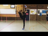 Crazy karate girls - flexible and strong _ female fitness moments 2017
