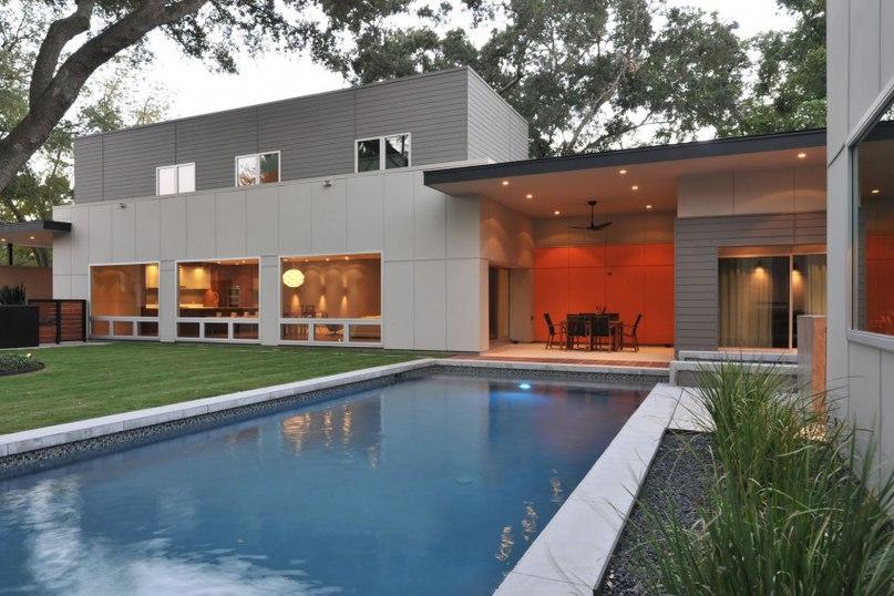 Частный дом в США #дома #архитектура #ландшафт