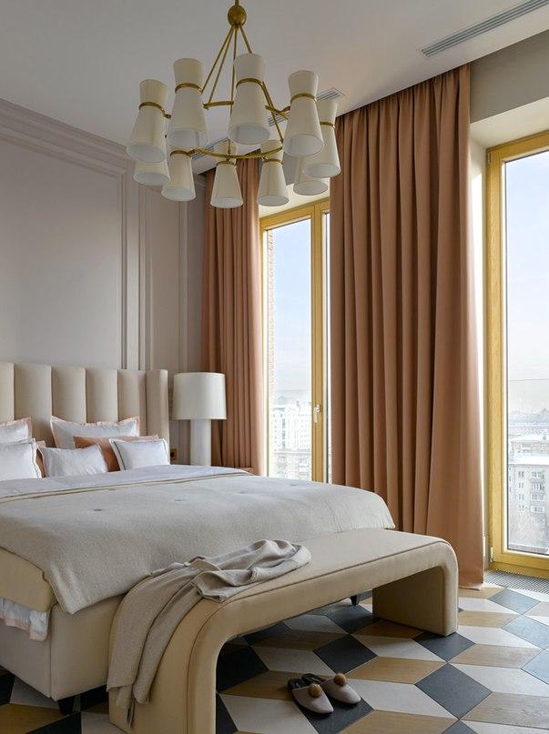 Изысканные современные апартаменты в Москве от Катерины Лашмановой