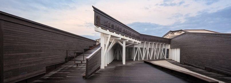 ARX Portugal completes timber costa nova social and cultural center