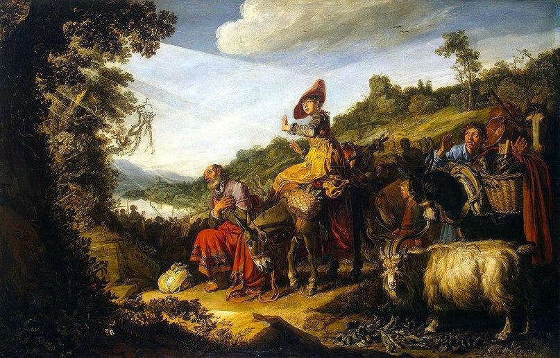 Питер Ластман «Авраам на пути в Ханаан» (1614)