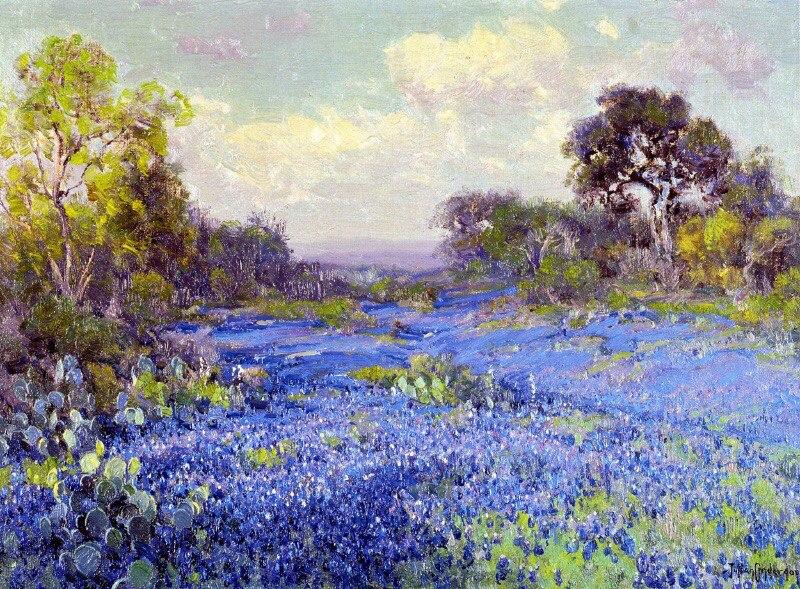 Американский художник-импрессионист Robert Julian Onderdonk (1882-1922)