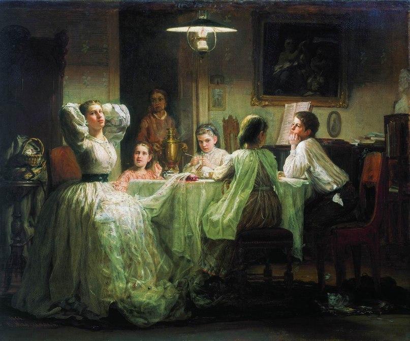 Василий Максимович Максимов (1844 — 1911) российский художник, передвижник, живописец-жанрист.