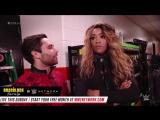 WWE 205 Live: Noam Dar Flirts with Alicia Fox