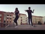 Танец парня и девушки _ Шафл _ Shuffle