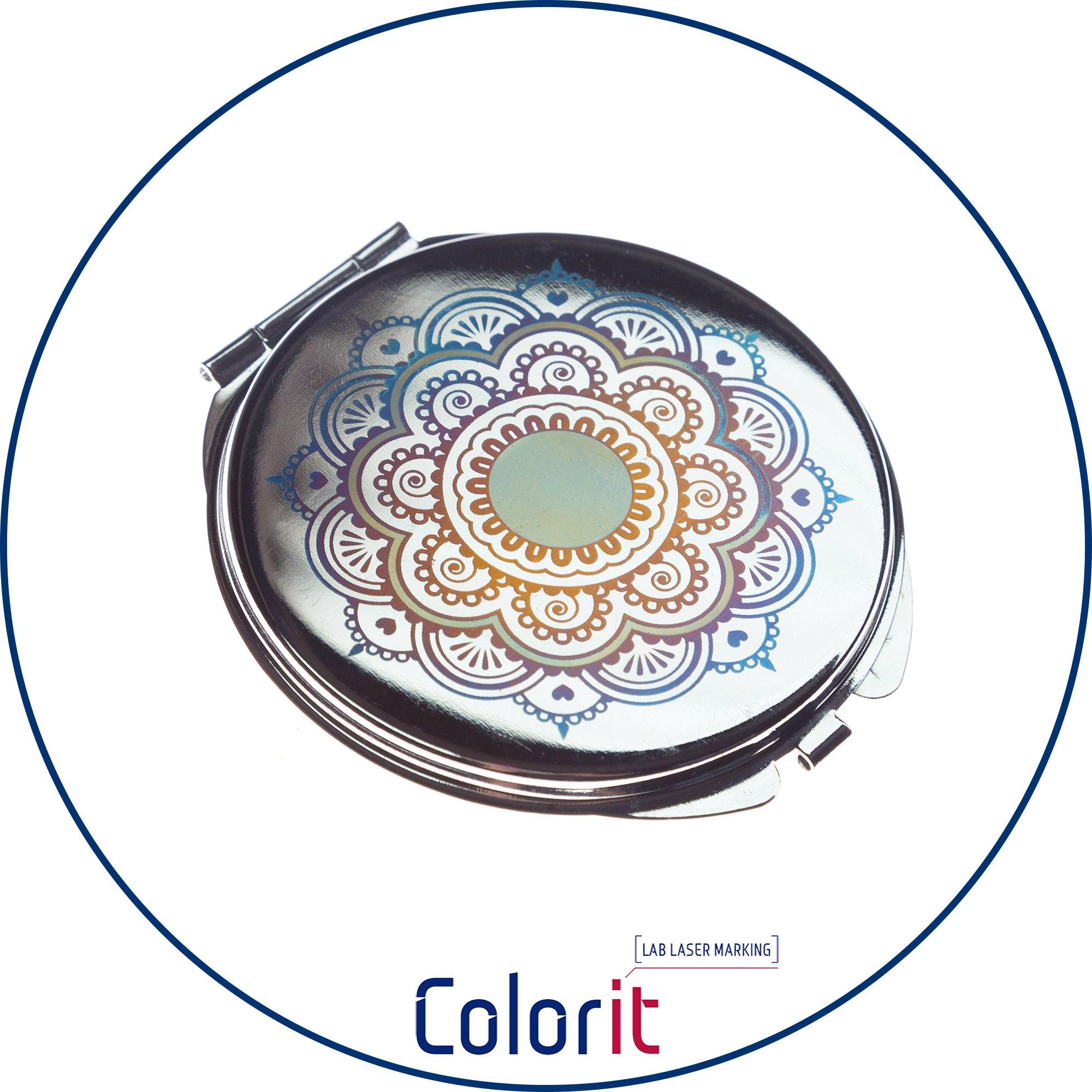 Технология ColorIt для цветной лазерной маркировки металлов
