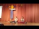 Танец скоморохов (танцует Настя)