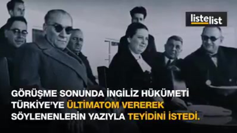 Atatürkün İzmir Limanını Terk Etmeyen İngiliz Donanmasının Komutanına Verdiği Tarihi Yanıt