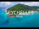 Seychelles 4k drone La Digue Islands
