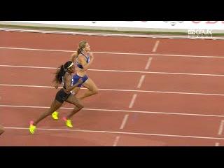 Elaine Thompson sets New 200m DL Record at Zurich Diamond League 2016
