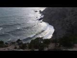 Шторм на Царском пляже в конце зимы