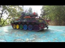 M26 Pershing Remote Control Toy Tank Hippie танк ХИПИ клип