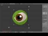 Blender Cartoon Eye