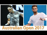 Roger Federer vs Noah Rubin 2017 Jan-18 Round 2 Highlights HD720p50 by ACE