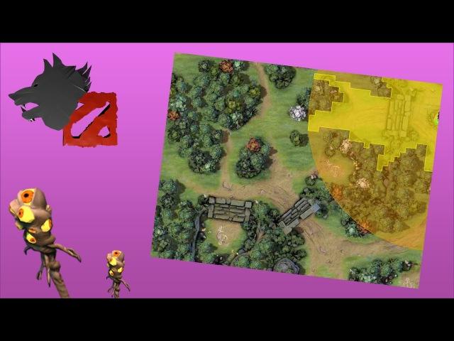 Интерактивная карта нового патча 7.00 Dota 2 симулятор расстановки вардов, такого я...
