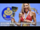 2016 IFBB World Fitness Championships BIKINI 166cm