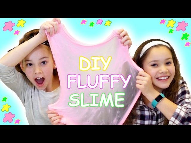 DIY FLUFFY SLIME Our Favorite DIY Slime Tutorial Haschak Sisters