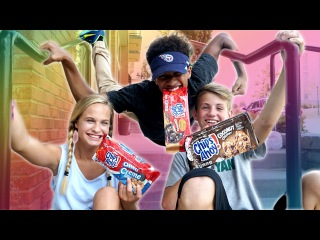 The Cookie Challenge! (Justin vs Liv ft. MattyBRaps)