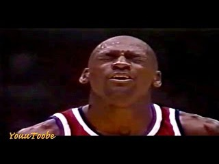 Michael Jordan - 3 Eyes Closed Free Throws in 1 Game! (super rare)
