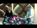 Twisted Bargello quilt with Jill Adamson and Julie Fernandez at Bee Crafty Taster Video