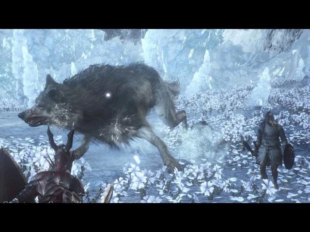 Yuka Kitamura - Champion's Gravetender Gravetender Greatwolf (Dark Souls III. Ashes of Ariandel)