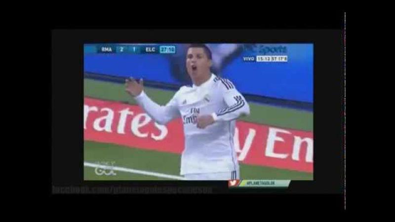 Penales inexistentes a Favor del Real Madrid | Especiales Tyc Sports Septiembre 2015
