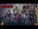 Коллекционная линейка фигурок Мстители: Эра Альтрона от Hot Toys / Hot Toys Age of Ultron figures