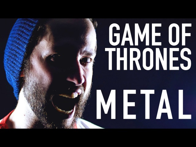 The Rains of Castamere METAL Game of Thrones cover by Jonathan Young