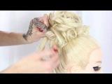 Hair tutorial Hochsteckfrisur Hochzeit Wedding für lange Haare