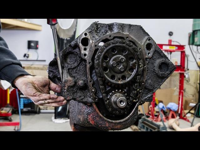 Реставрация двигателя Chevrolet small-block. Time Lapse