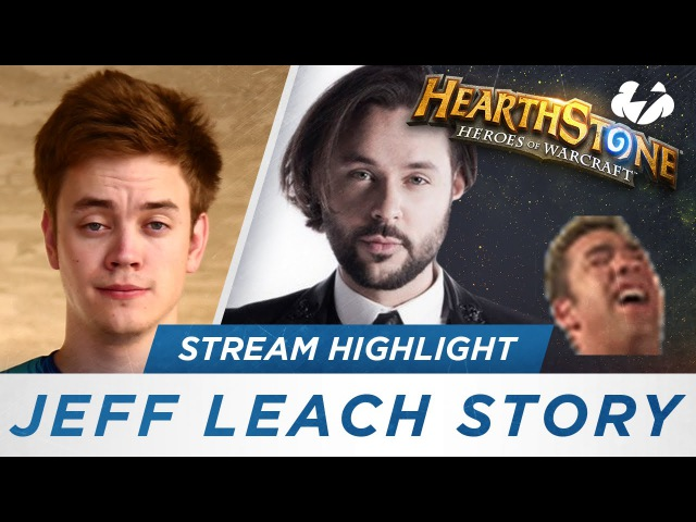 Jeff Leach Tells a Hearthstone Story [Funny Reynad Stream Highlights]