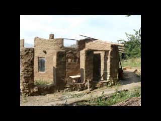 Дом из самана в Родовом Поместье Морозовых