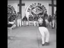 Mestre Bocão and Mestre Virgulino Doing a Capoeira Show at the Batizado in Goiania