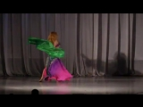 Fantastic belly dance perfomance from Veronica Fatin, famouse belly dancer from  27