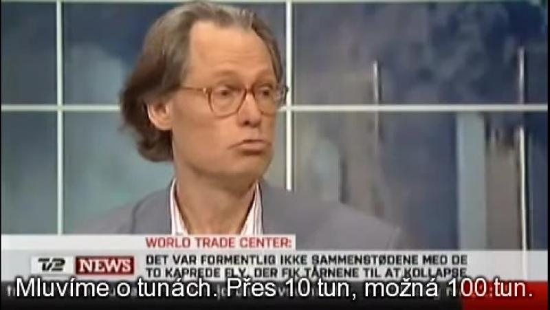Niels Harrit na TV2NEWS o nanotermitu