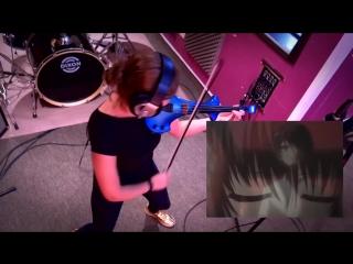 Кавер на скрипке по аниме Иная | ANOTHER VIOLIN ANIME COVER!