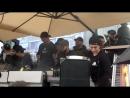 Владимир Корнюшкин в день открытия Black Star Burger в Цветном Бульваре